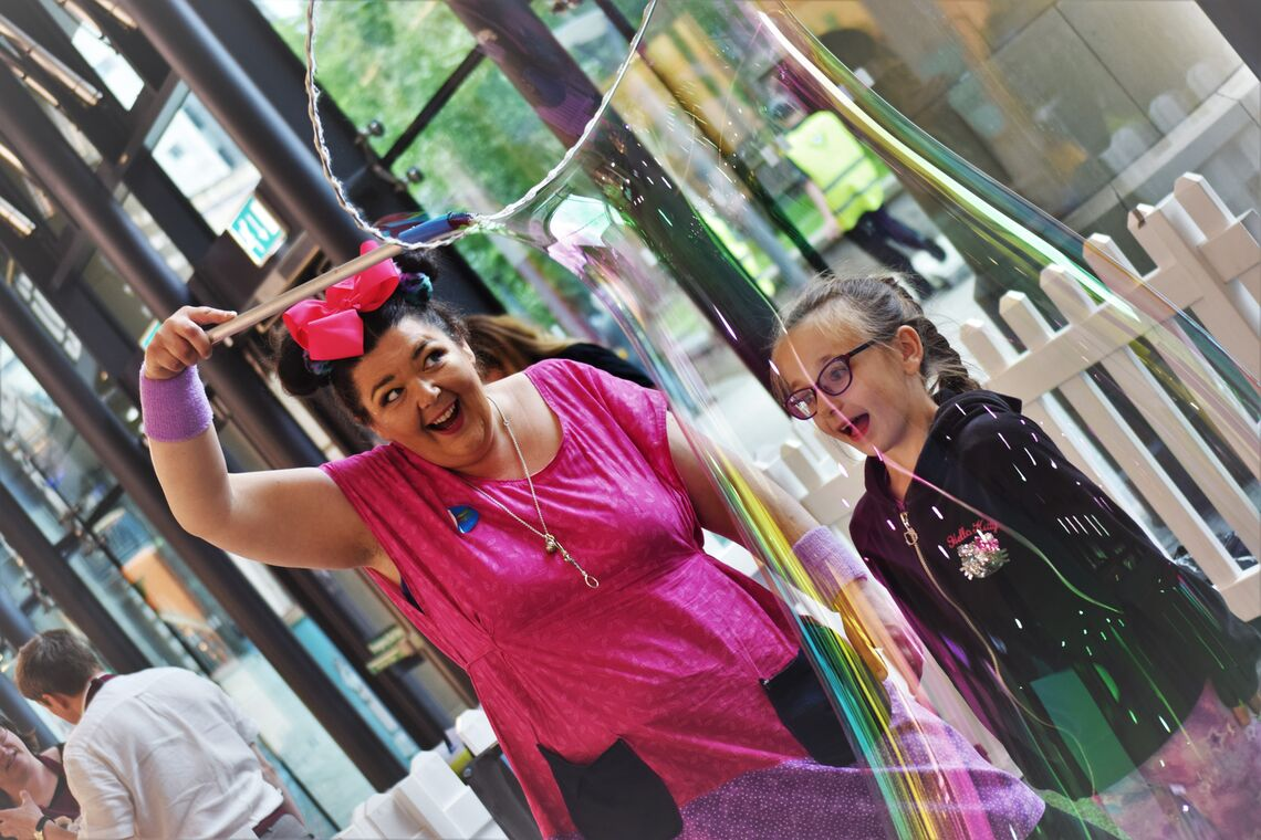 More Bubble Trouble - Photography credit Jazzhand Photography